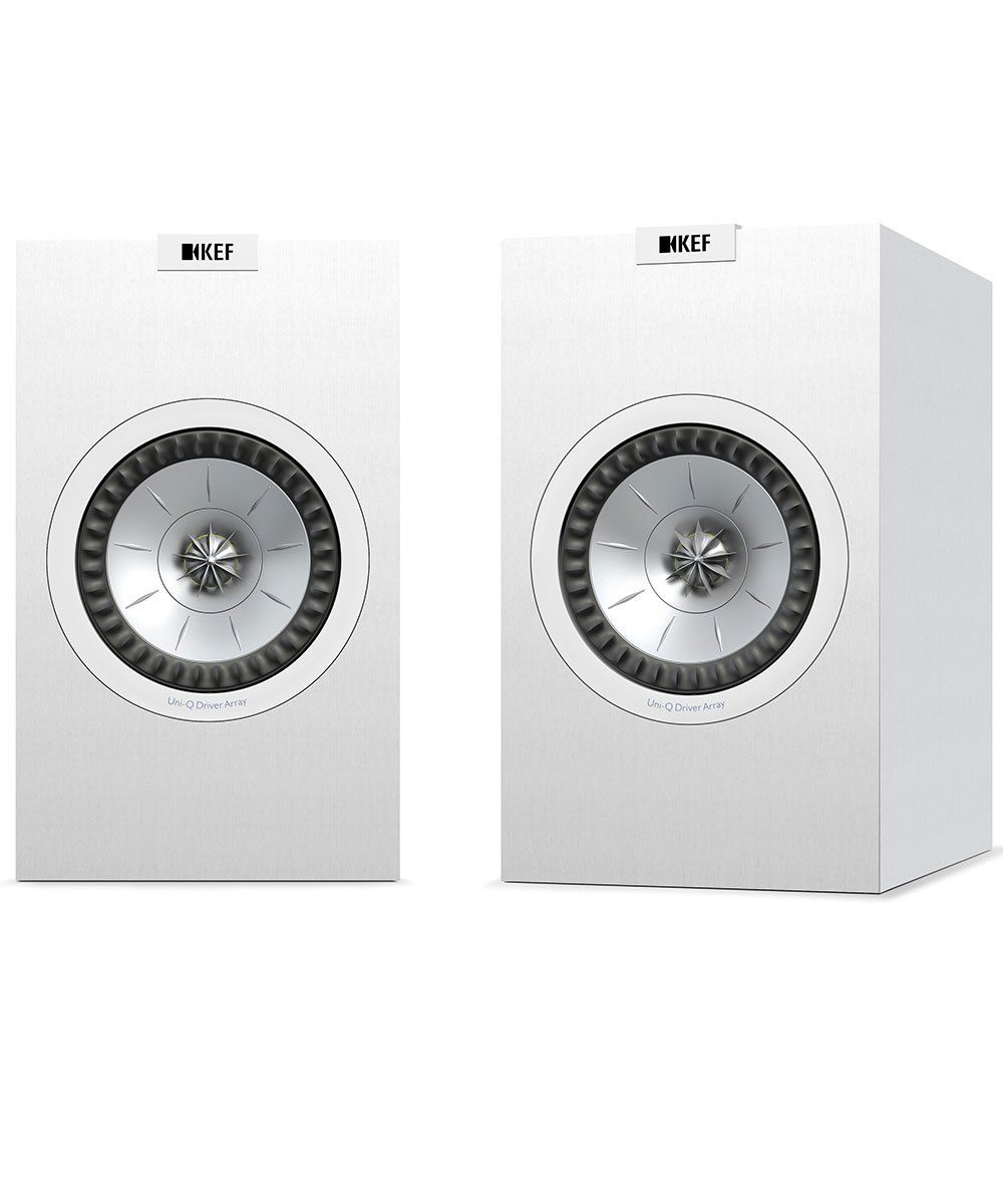KEF Q150 Bookshelf Speaker Pair in White | KEF Direct