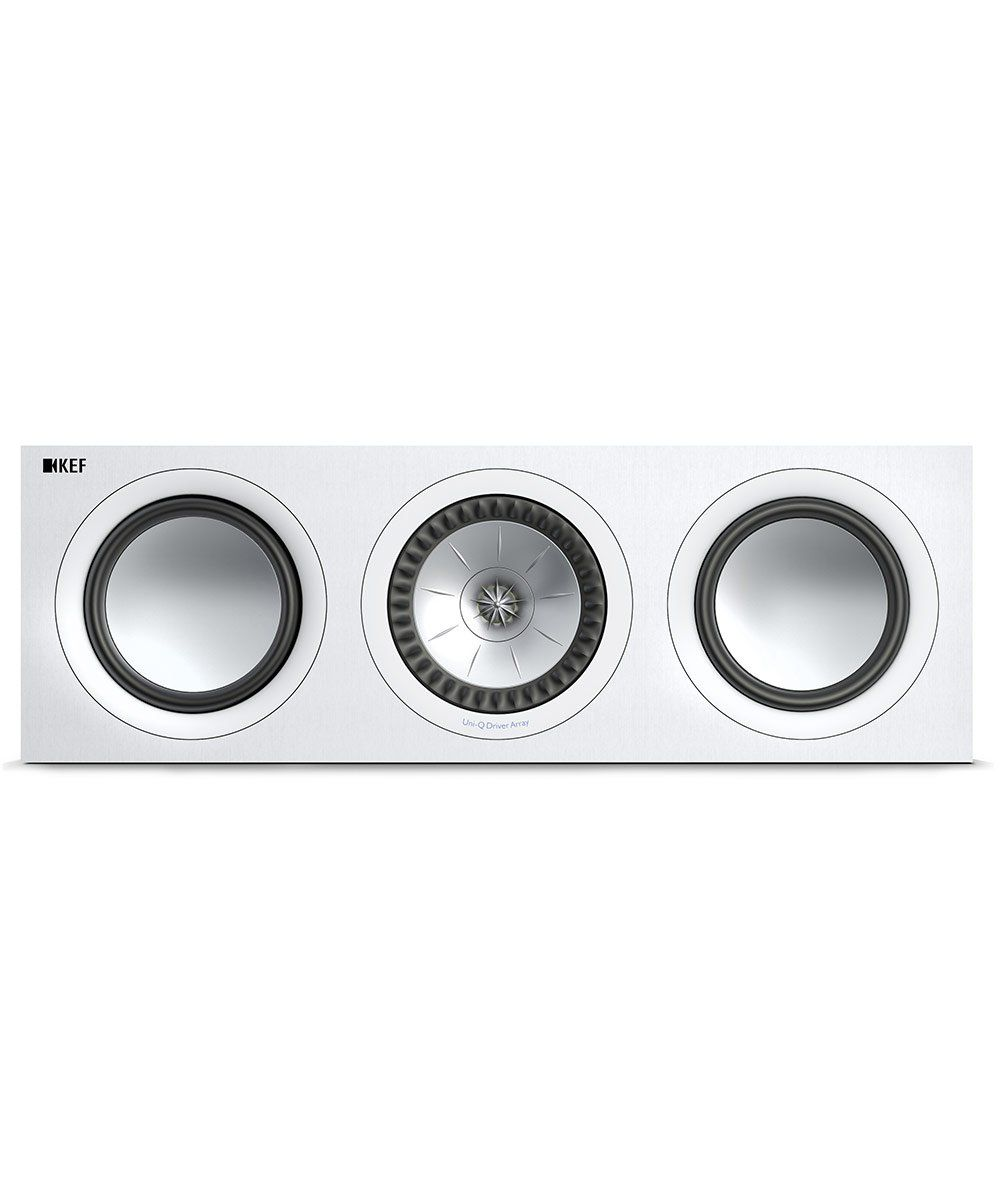 KEF Q650c Center Channel Speaker in White Front