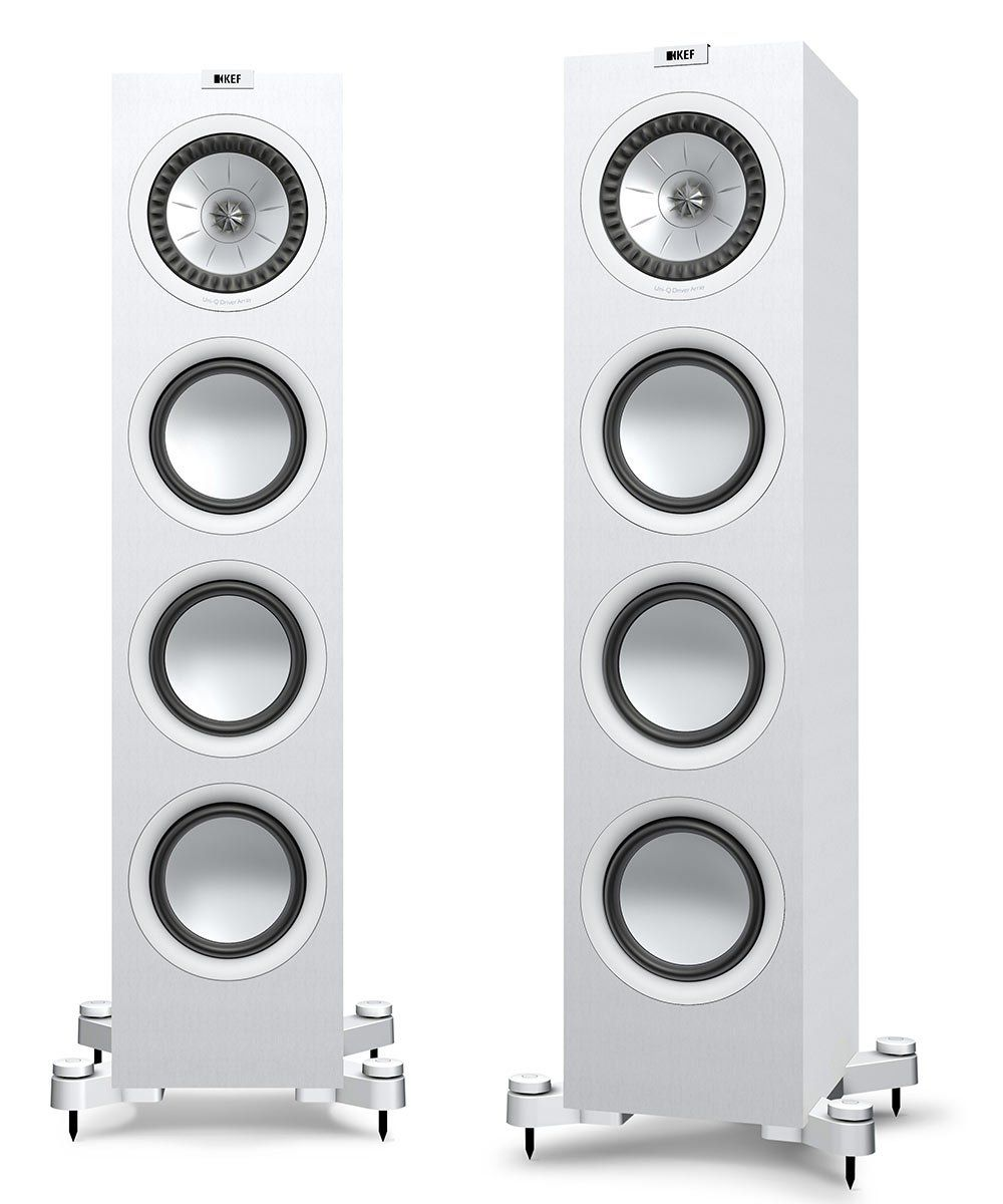 KEF Q750 Floorstanding Speaker in Satin White