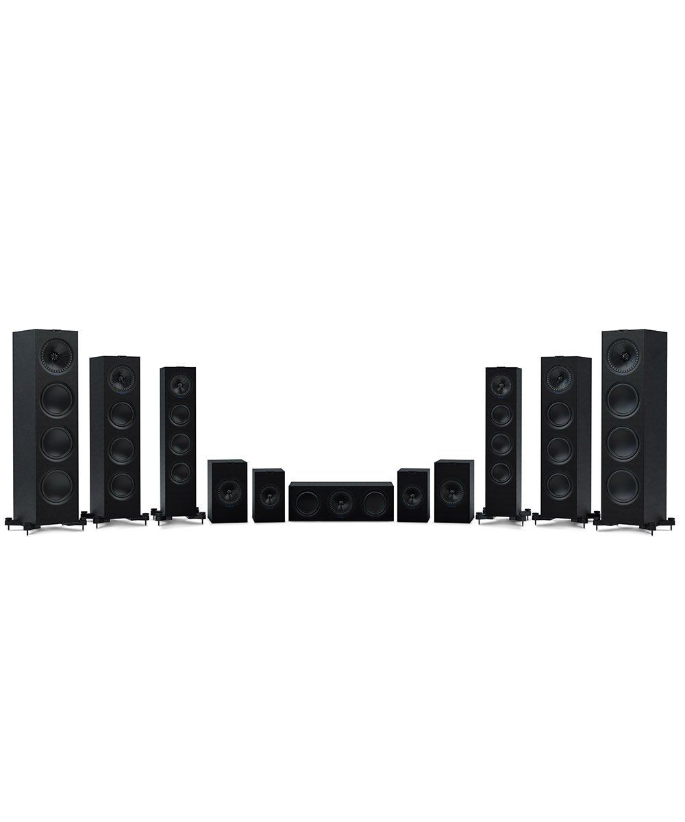 KEF Q Series Complete Line in Black