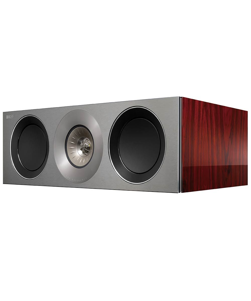 KEF Reference 2c center channel hifi speaker in Luxury Rosewood  | KEFDirect