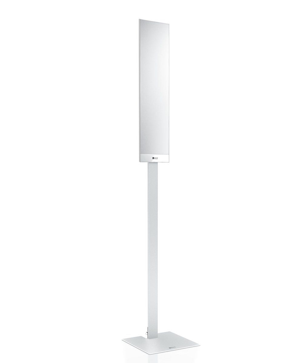 T Floor Stand white