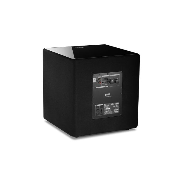 KEF KUBE 8b Compact High Performance Subwoofer Back