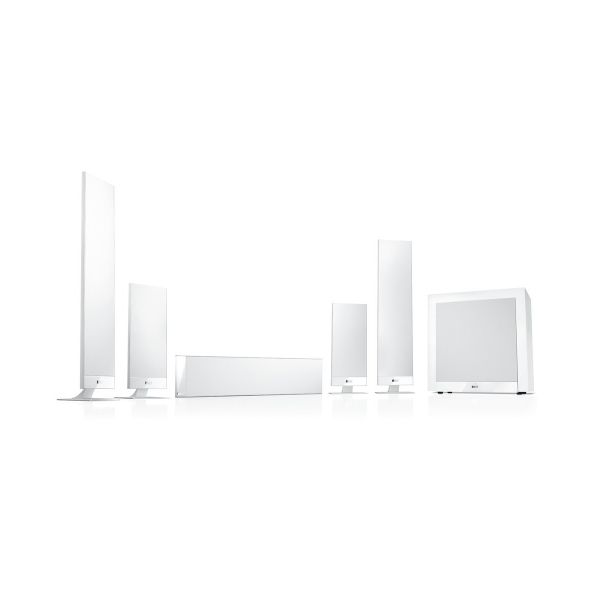 KEF T205 UltraThin Home Theater System White