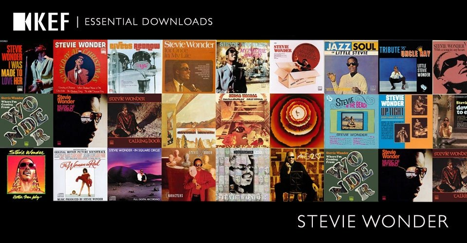 Essential Downloads: Stevie Wonder
