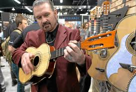 San Gabriel Valley Tribune - Rock Clouser at NAMM