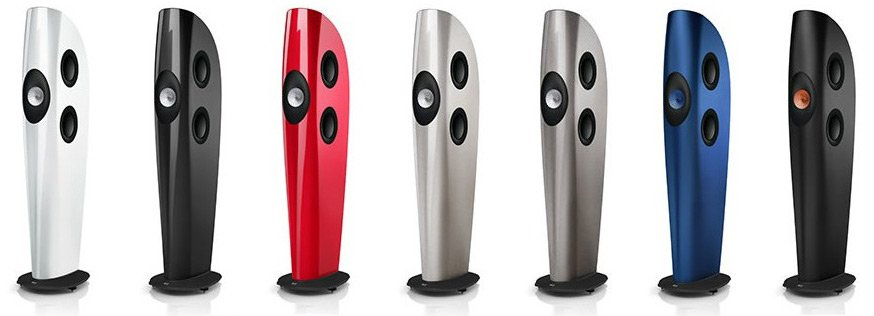 KEF Blade and Blade TWO finishes
