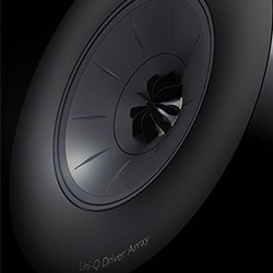 KEF R5 Shadow Flare Technology