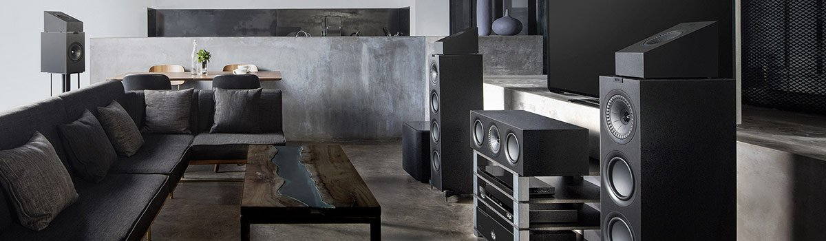 KEF Q Series Dolby Atmos Speakers